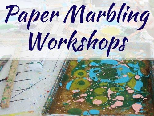 No Date Paper Marbling Workshops