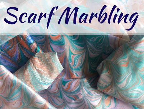 No Date Scarf Marbling Workshops